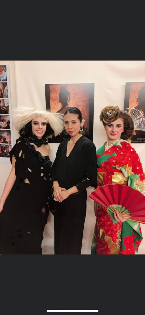 フランス・ヴァンヌにて開催された「ENTRE CHOC´」へJAPANメンバーの一員としてヘアショーステージへ出演
